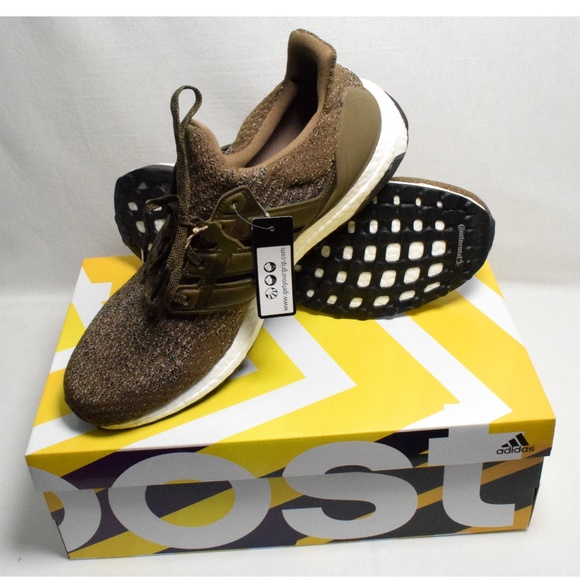 f23b58be7 ADIDAS MEN S BOOST ULTRABOOST TRACE OLIVE 11.5